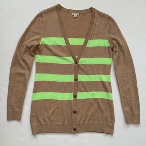GAP Striped Cardigan $10 or 3/$25